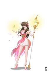 Riot UA Team DnD Character: Healer