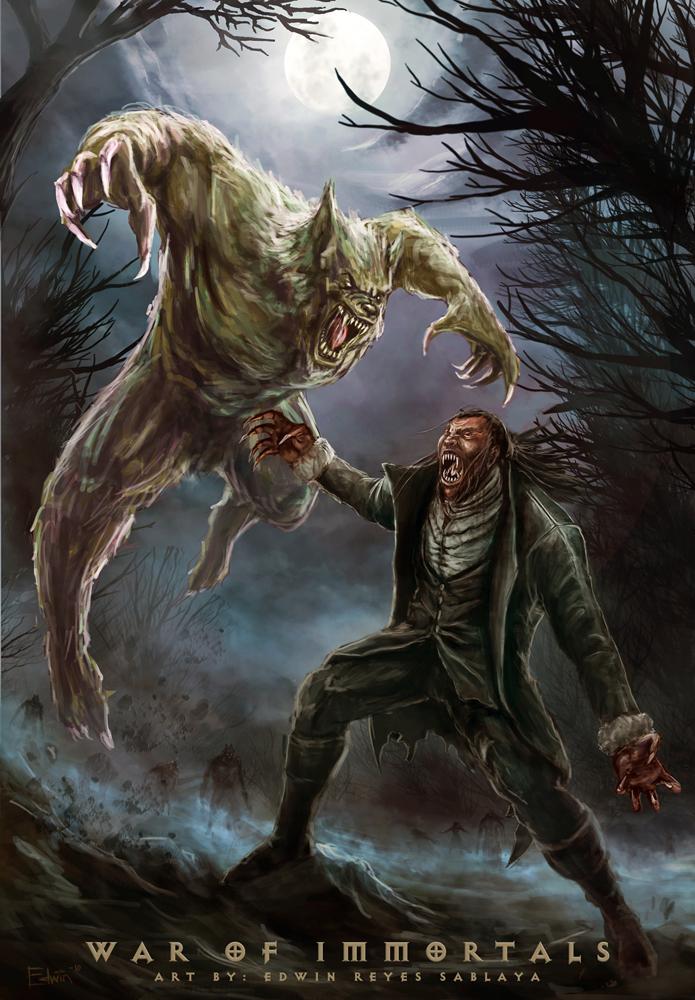 The War Of Immortals By Lituzen05 On Deviantart