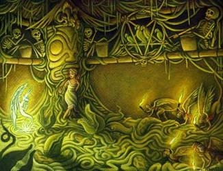 The Disenchanted Tiki Room by wattsh
