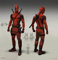 Deadpool Test Footage - Costume Design