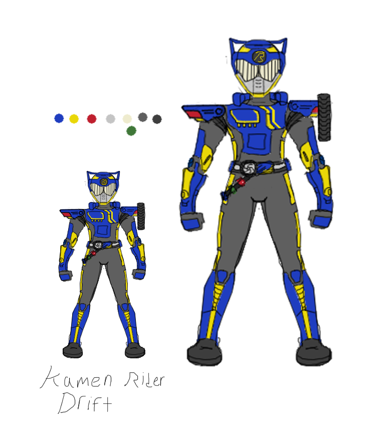 Kamen Rider Drift WIP by Ashura01