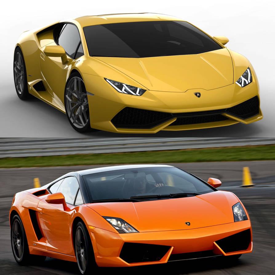 Lamborghini Huracan Vs Lamborghini Gallardo By Mesfintmogent On