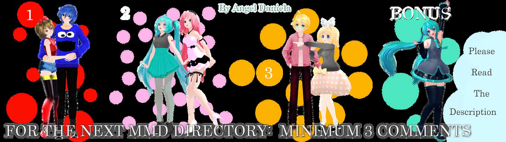 MMD DL Directory 3 [+ Pose Pack DL]