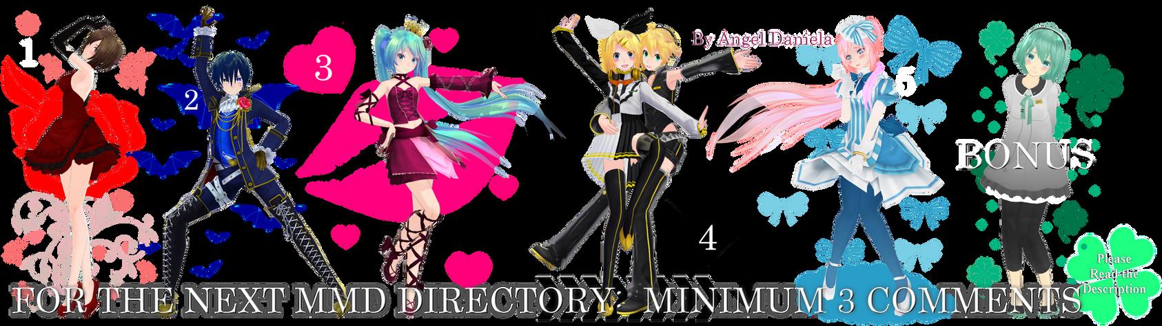 MMD DL Directory 11 [+ Pose Pack DL]