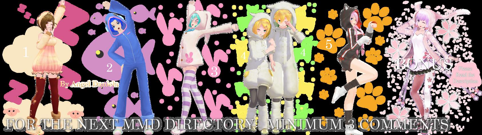 MMD DL Directory 12 [+ Pose Pack DL]