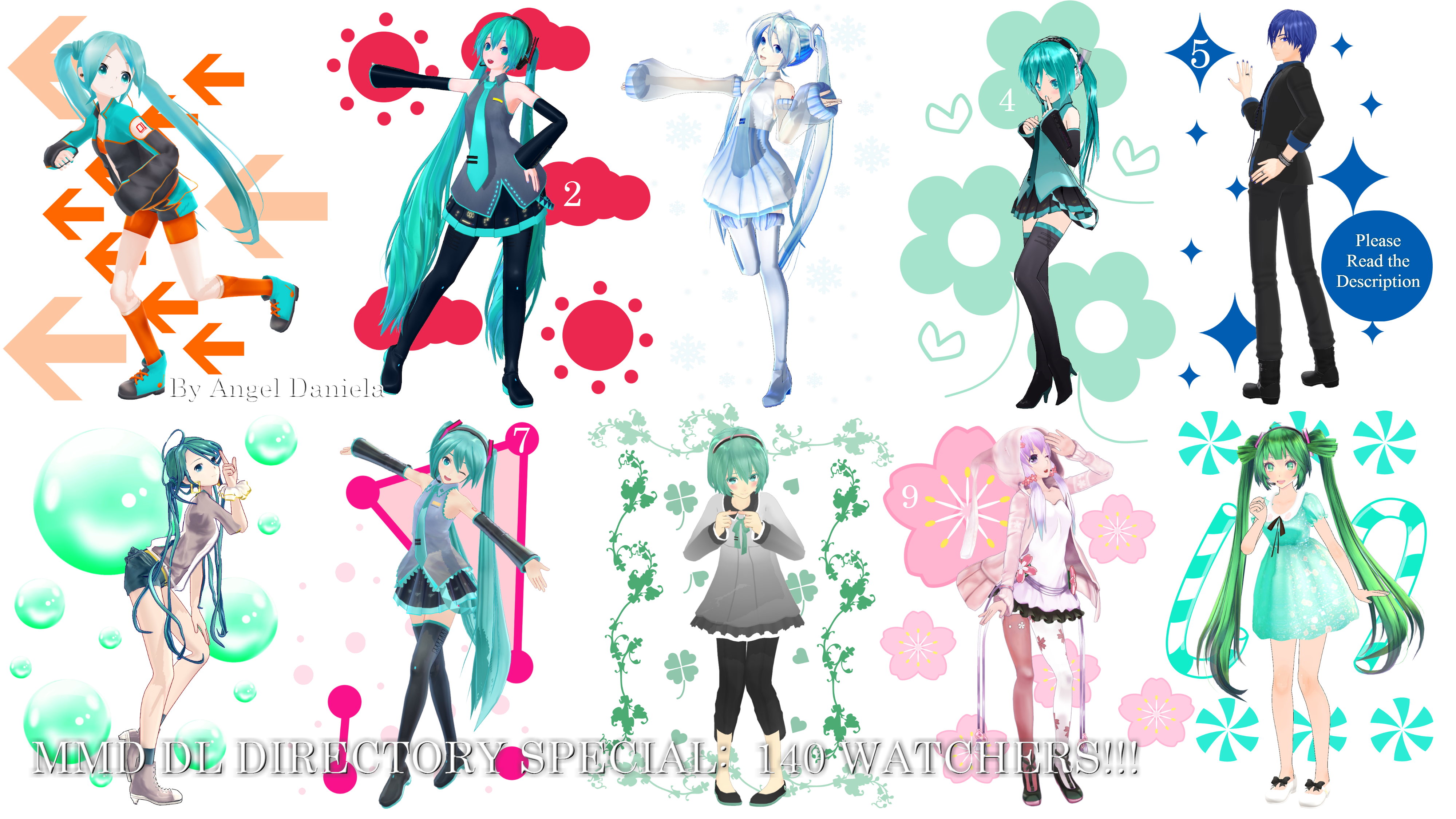 Poses and Motions on Everything-Of-MMD - DeviantArt