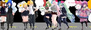 MMD DL Directory 14 [+ Pose Pack DL]