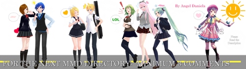 MMD DL Directory 14 [+ Pose Pack DL] by Angela-16
