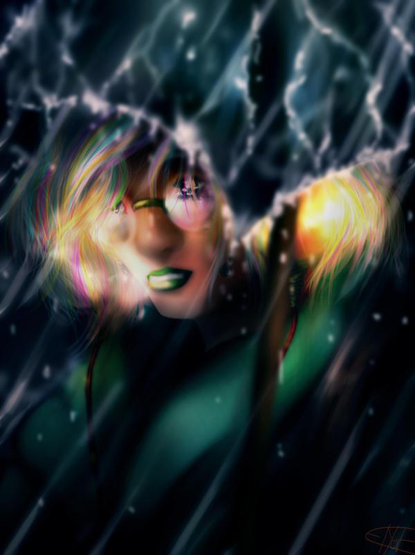 Shiny Rain by Zeptomone