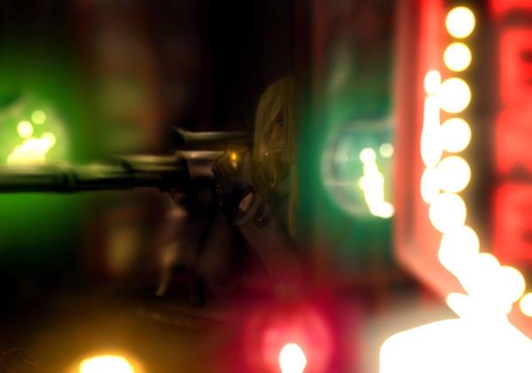 Sniper on the window by Zeptomone