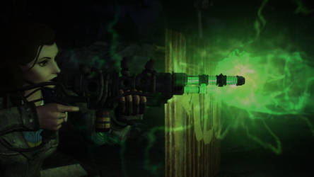 (Chicago Enclave) Boosted Plasma Rifle - Glow by JackLee19