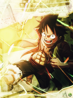 Luffy by themce