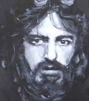 Al Pacino oil portrait by FourWaterReed