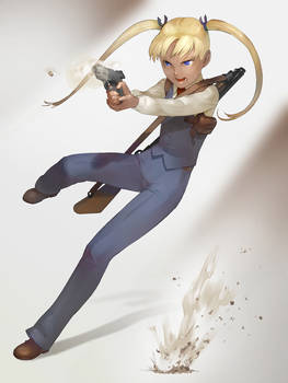 GUNSLINGER GIRL triela