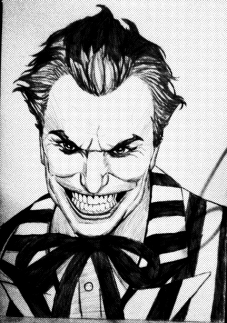 The Joker - Drawing by AldoRaine13