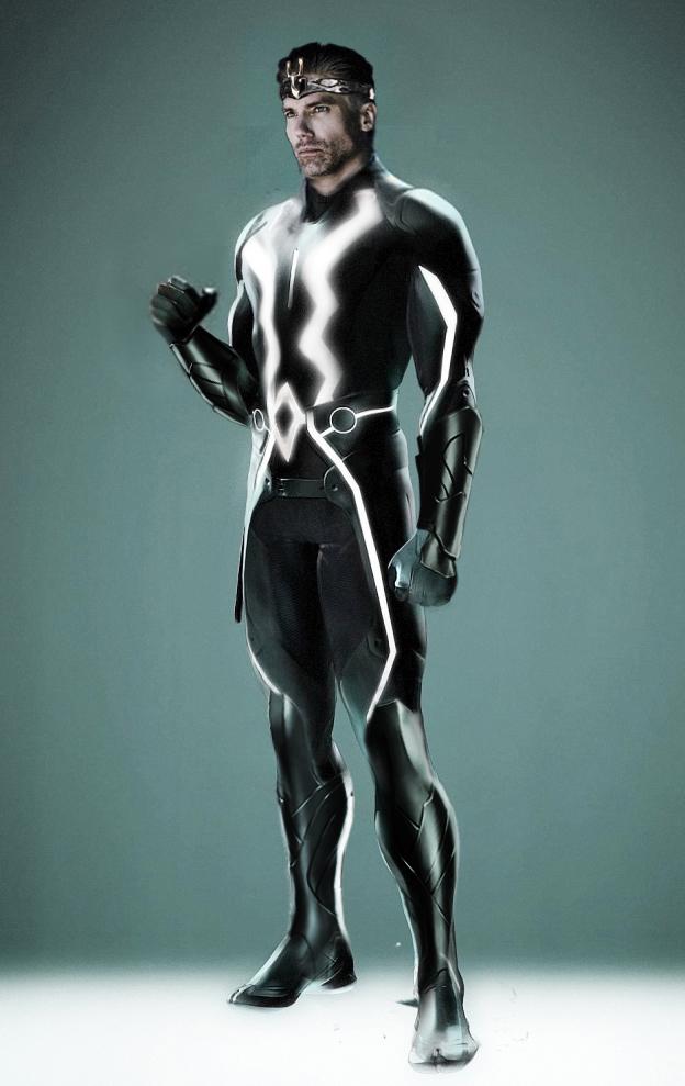 Black Bolt redesign by AldoRaine13