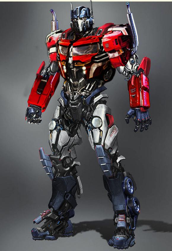 Optimus Prime Redesign by AldoRaine13