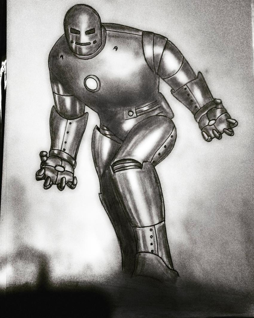 Iron Man Mark I by AldoRaine13