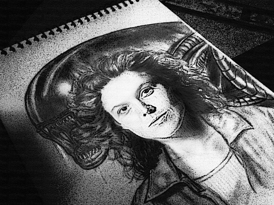 Alien by AldoRaine13