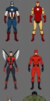 The Avengers Redesign