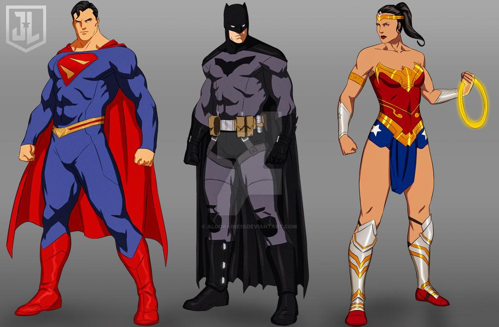 JLA Animated Series Reboot - The Trinity