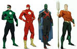 Justice League Animated Reboot