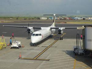 Island Air Bombadier Q400