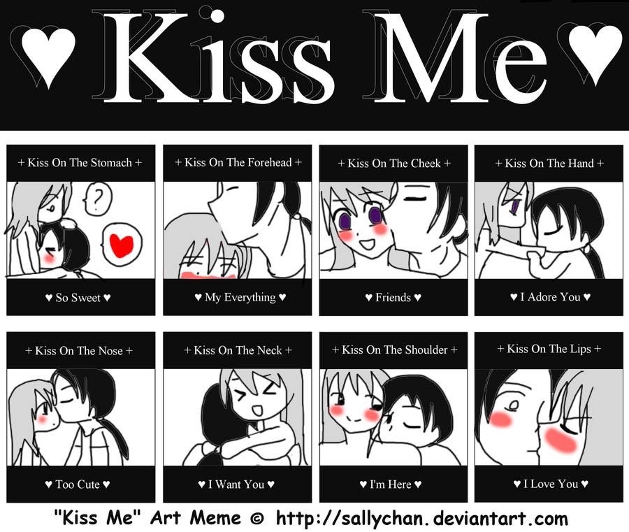 Kiss Me Meme Funny : Kiss me art meme by kiki on deviantart