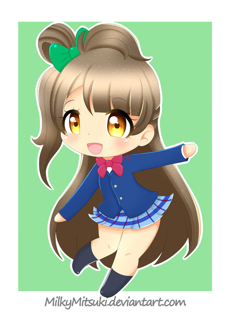 Kotori Chibi by MilkyMitsuki
