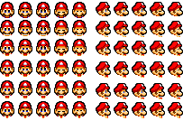 Mario Mouth Positions by AnAnimatedGamer