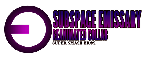 Subspace Emissary ReAnimated Collab Logo by AnAnimatedGamer