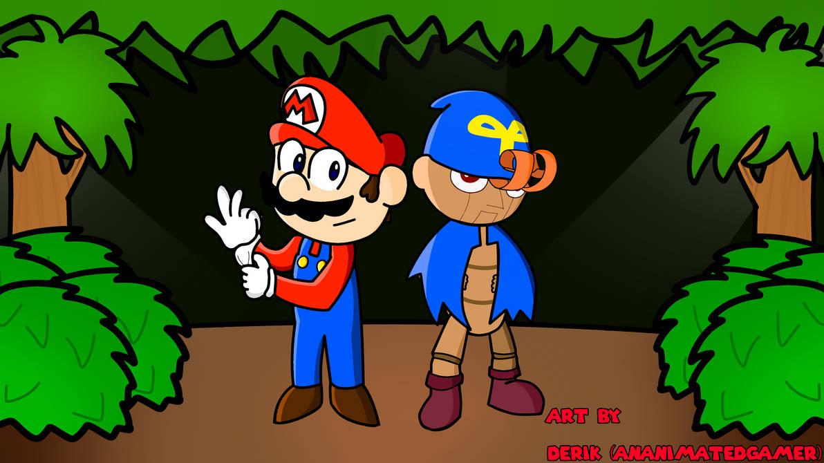 Super Mario RPG (Mario and Geno) by AnAnimatedGamer