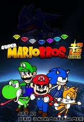 Super Mario Bros Super (Fan Art) by AnAnimatedGamer