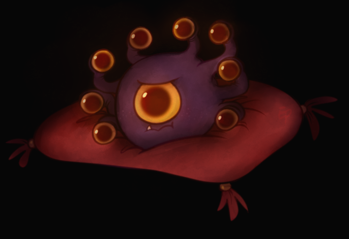 DnD] Barotrouse the baby beholder by End-Prince on DeviantArt