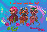 OPEN 2/3 [Succubi Adoptables 01] by anem0ia