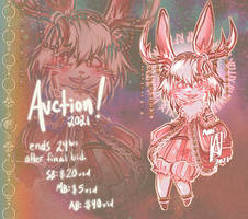 [OPEN] Fancy Fur: Antique Jackalope AUCTION by anem0ia