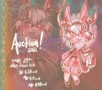 [OPEN] Fancy Fur: Antique Jackalope AUCTION by anem0ia