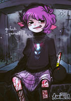 fuck its you i hate the most by anem0ia