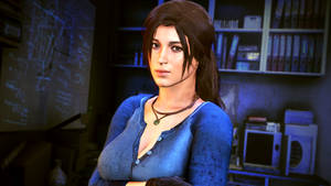 Lara in the basement