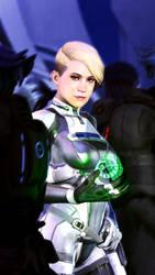 Lt. Cora Harper by GINkasu