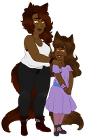 Naomi and Annabelle Smith (Ask Us!) by Ask-TheChocoWolves
