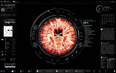 Latest Desktop (24/10/12) by acrox999