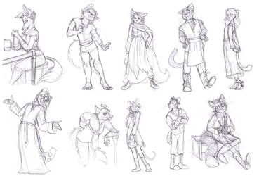 A Bunch Of Furries