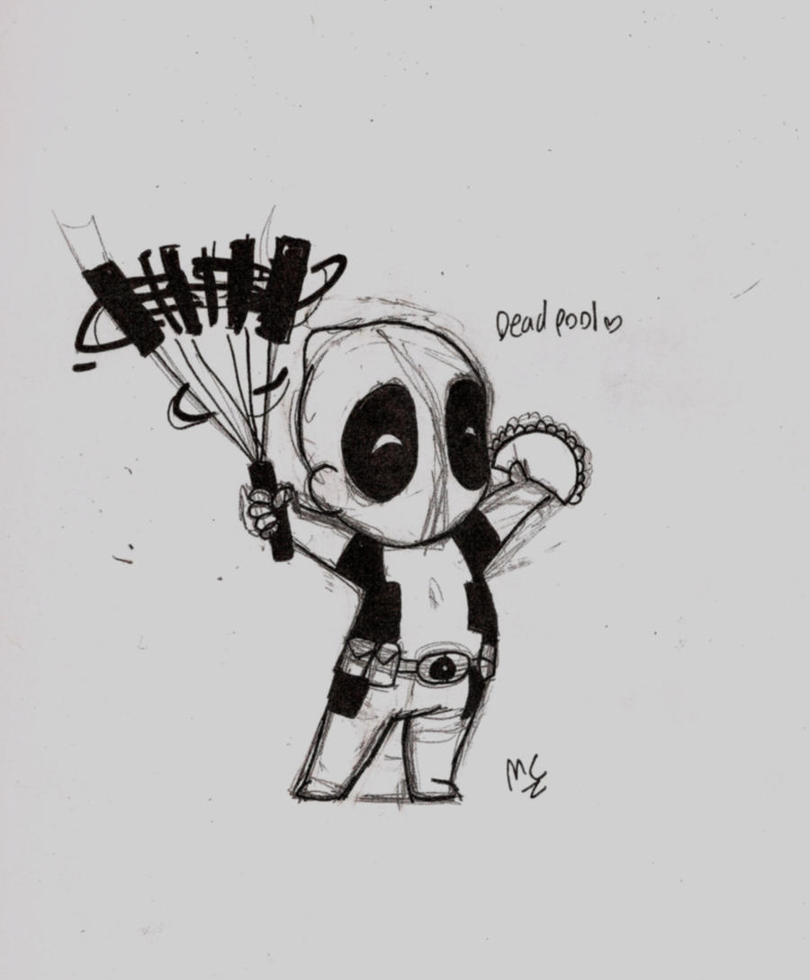 Deadpool Is Cool By Flower-in-torn-jeans On DeviantArt