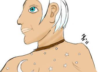 Kalom's Human WIP by TakaYume
