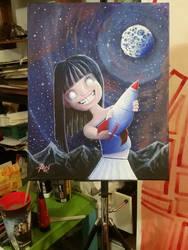 Blue Girl by Am-webber