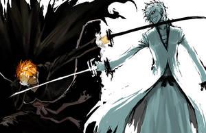 Ichigo vs. Ichigo by bleachfan14