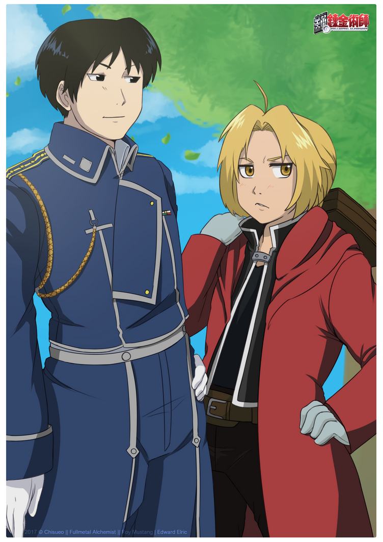 fma:. roy mustang/edward elricchisublopop on deviantart