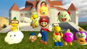 Paper Mario N64 Partners