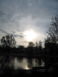 Sunset - Water I by Kayassine